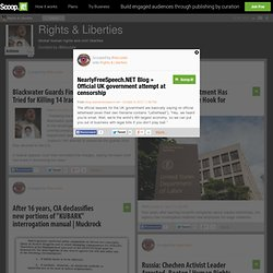 NearlyFreeSpeech.NET Blog » Official UK government attempt at censorship | Rights & Liberties