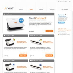 Neat Products - NeatDesk, NeatReceipts, Neat Accessories