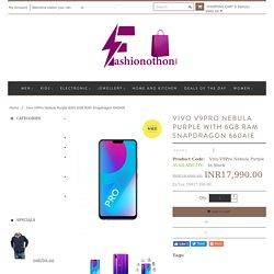 Vivo V9Pro Nebula Purple With 6GB RAM Snapdragon 660AIE