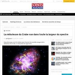 VIDEO. La nébuleuse du Crabe vue dans toute la largeur du spectre - Sciencesetavenir.fr
