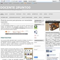 Docente 2punto0: Portal de recursos para personas con necesidades especiales