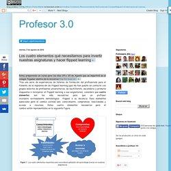 Profesor 3.0: Los cuatro elementos qué necesitamos para invertir nuestras asi...