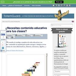 ¿Necesitas contenido educativo para tus clases en aula TIC?