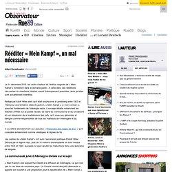 Rééditer «Mein Kampf», un mal nécessaire