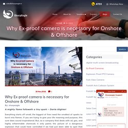 Why Ex-proof camera is necessary for Onshore & Offshore - Sharpeagle.tv