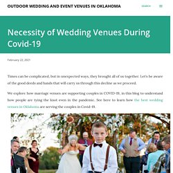 Necessity of Wedding Venues During Covid-19