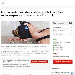 Neck Hammock avis : Ce hamac pour le cou vaut-il le coup ?