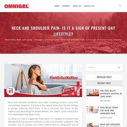 Back pain spray - Omnigel