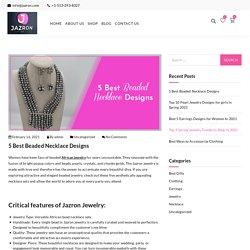 African Designer Beaded Necklace & Jewelry