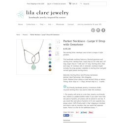 Get Designed Parker Faceted Gemstone Necklace