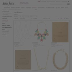 Necklaces - Fashion - Jewelry & Accessories