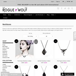 Necklaces – The Rogue + The Wolf