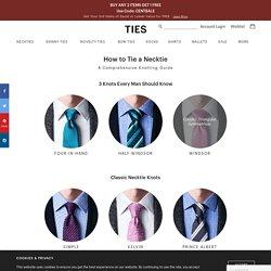Different Ways Of Tying A Tie