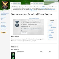 Necromancer - Standard Power Necro