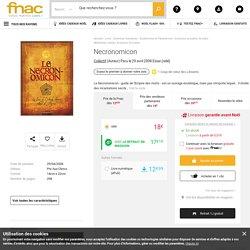 Necronomicon - relié - Collectif - Achat Livre ou ebook - Achat & prix Fnac
