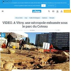 VIDEO. A Vitry, une nécropole exhumée sous le parc du Coteau - Le Parisien