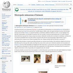 Nécropole minoenne d'Armeni