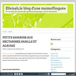 PETITS SAVARINS AUX NECTARINES,VANILLE ET AGRUME - Elleisab,le blog d'une momoflinguée