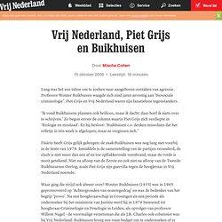 Vrij Nederland, Piet Grijs en Buikhuisen 15okt2005