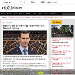 Nederlands geld belegd in leveranciers Syrisch regime