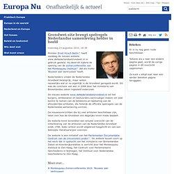 Grondwet-site brengt spelregels Nederlandse samenleving helder in beeld - Europa NU