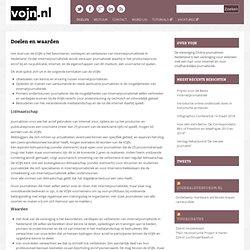 » Doelen en waarden Vereniging Online Journalisten Nederland