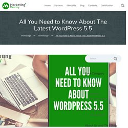 All You Need to Know About The Latest WordPress 5.5 - Marketing Mercury