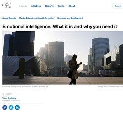 Why you need emotional intelligence