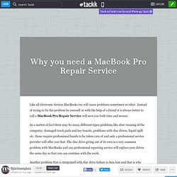Why you need a MacBook Pro Repair Service