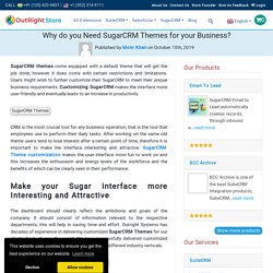 SugarCRM Themes for your Business