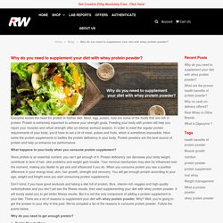 Why do you need to supplement your diet with whey protein powder? – Real Whey