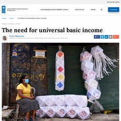 The need for universal basic income