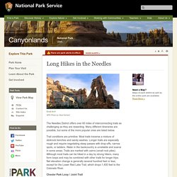 Long Hikes in the Needles - Canyonlands National Park (U.S. National Park Service)