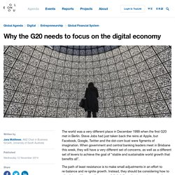 Why the G20 needs to focus on the digital economy