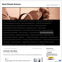 Real Climate Science