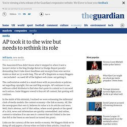 AP took it to the wire but needs to rethink its role