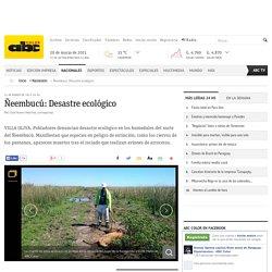 Ñeembucú: Desastre ecológico