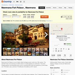 Neemrana Fort Palace Hotel Rooms, Rates, Photos, Deals, Map