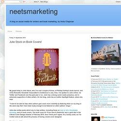 neetsmarketing : Julie Stock on Book Covers!