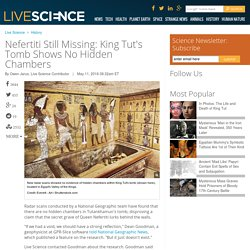 Nefertiti Still Missing: King Tut's Tomb Shows No Hidden Chambers