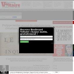 Philippe Verdier accusé de négationnisme climatique… Touche pas à ma COP !