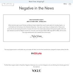 Negative in the News – Negative Underwear