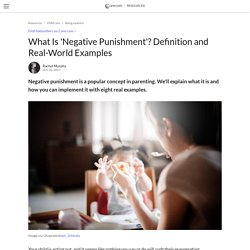 What Is 'negative Punishment'? Definition And Real-World Examples