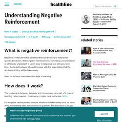 Negative Reinforcement: What Is It and How Does It Work?