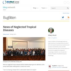 BLOG BIOMED 30/03/15 News of Neglected Tropical Diseases