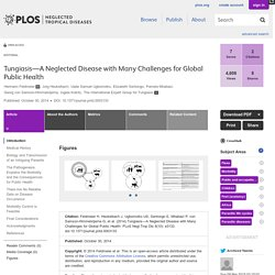 PLOS 30/10/14 Tungiasis—A Neglected Disease with Many Challenges for Global Public Health