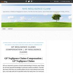 GP Negligence Claims Compensation