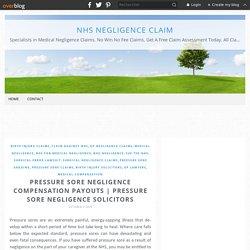 Pressure Sore Negligence Compensation Payouts