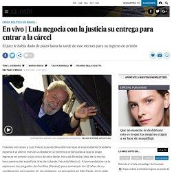 Lula negocia con la justicia su entrega para entrar a la cárcel
