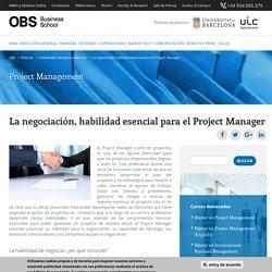 La negociación, habilidad esencial para el Project Manager